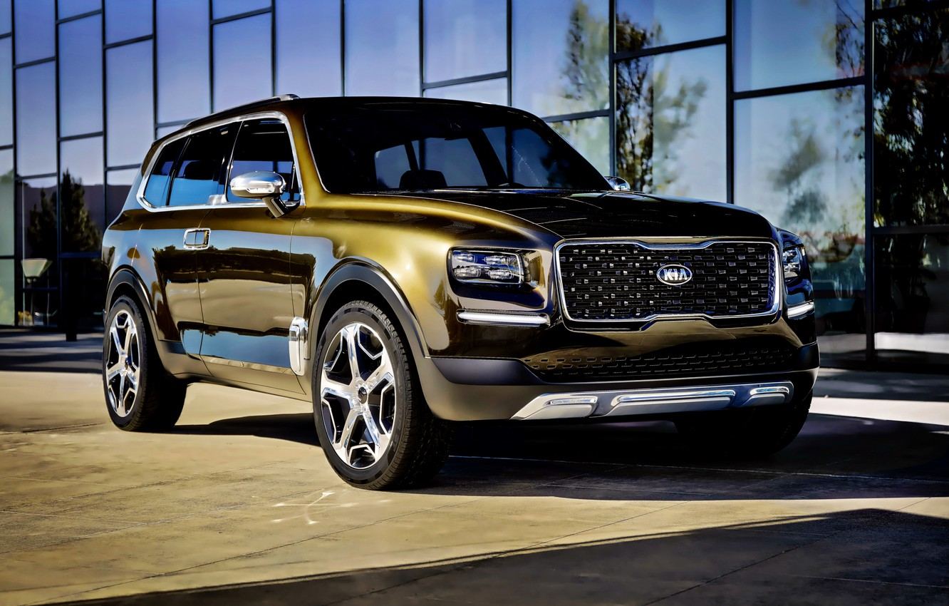 Wallpaper Concept the concept Kia Kia Telluride images for 1332x850