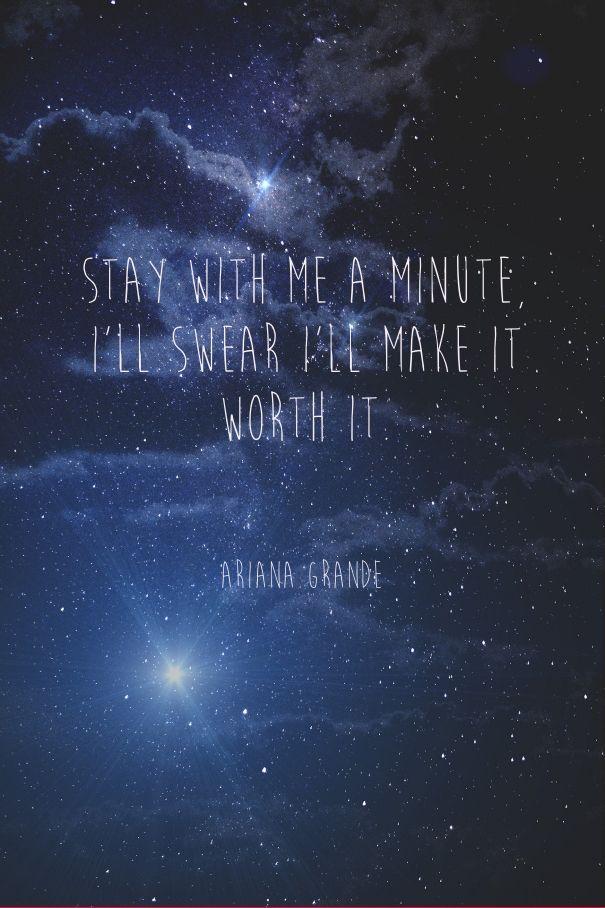 Ariana Grande One Last Time Lyrics Pinterest Kayla 605x908