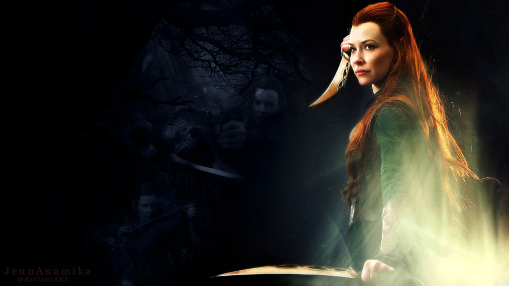 Tauriel Wallpaper 1024x576