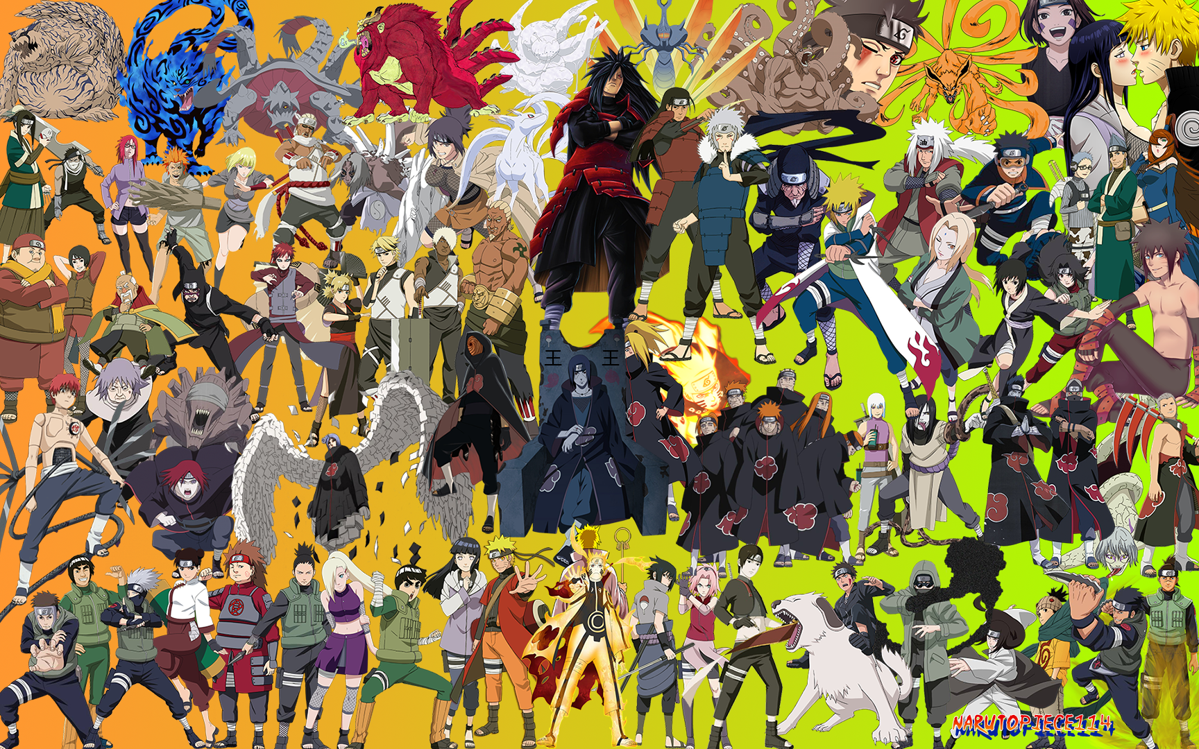 Wallpapers Of Naruto Characters