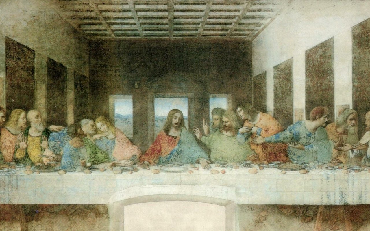 Last Supper Wallpaper 1280x800