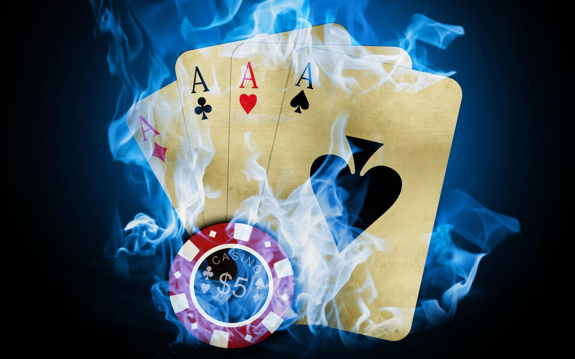 Cards poker chips fire wallpaper 1920x1200 29744 WallpaperUP 1920x1200