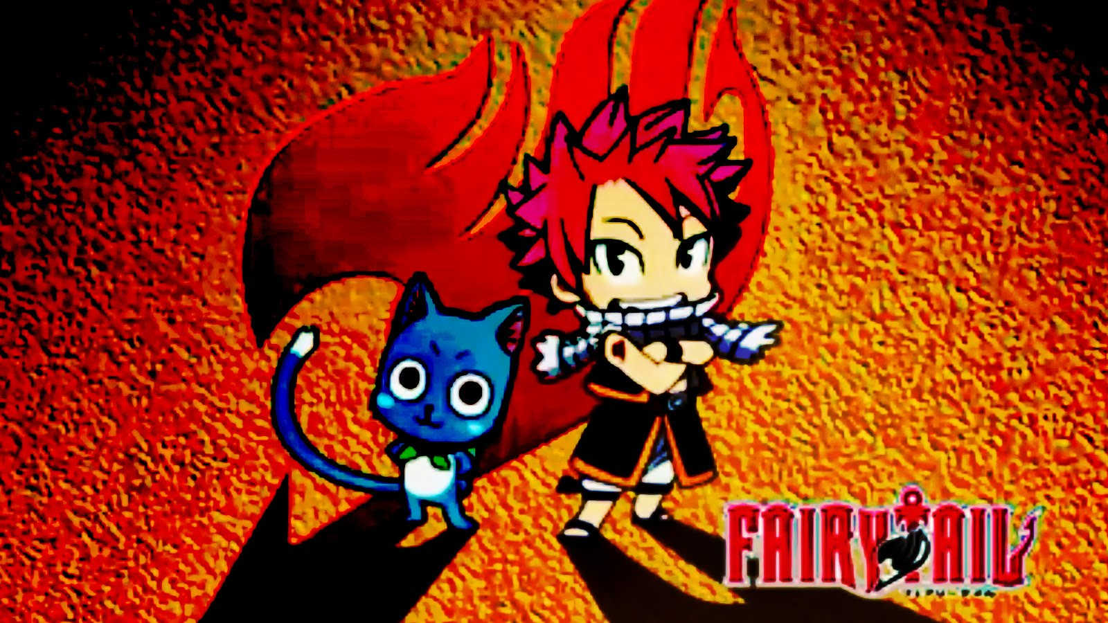 Fairy Tail Wallpaper Natsu And Happy 1600x900