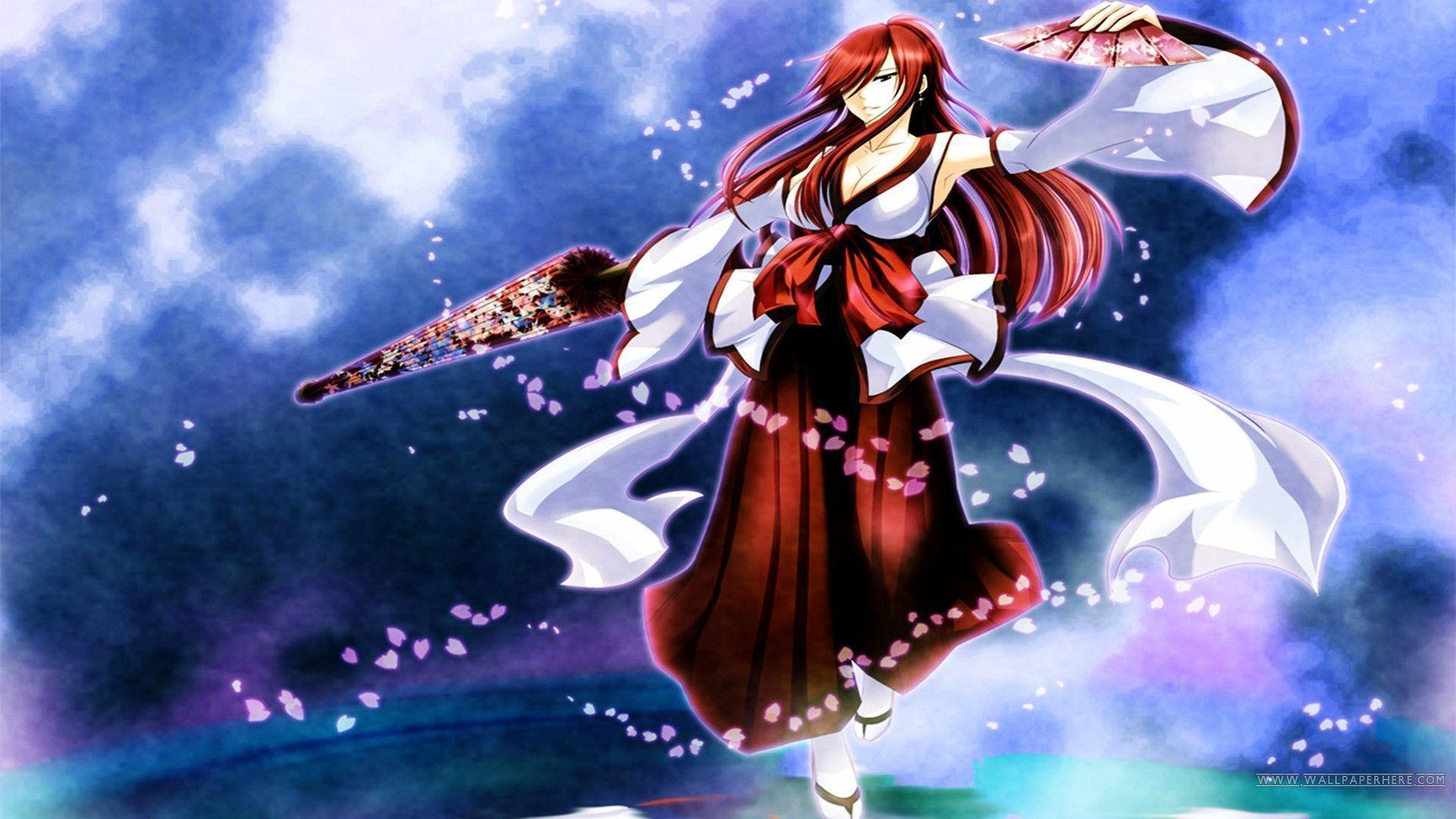 Fairy Tail Erza Wallpapers 1920x1080