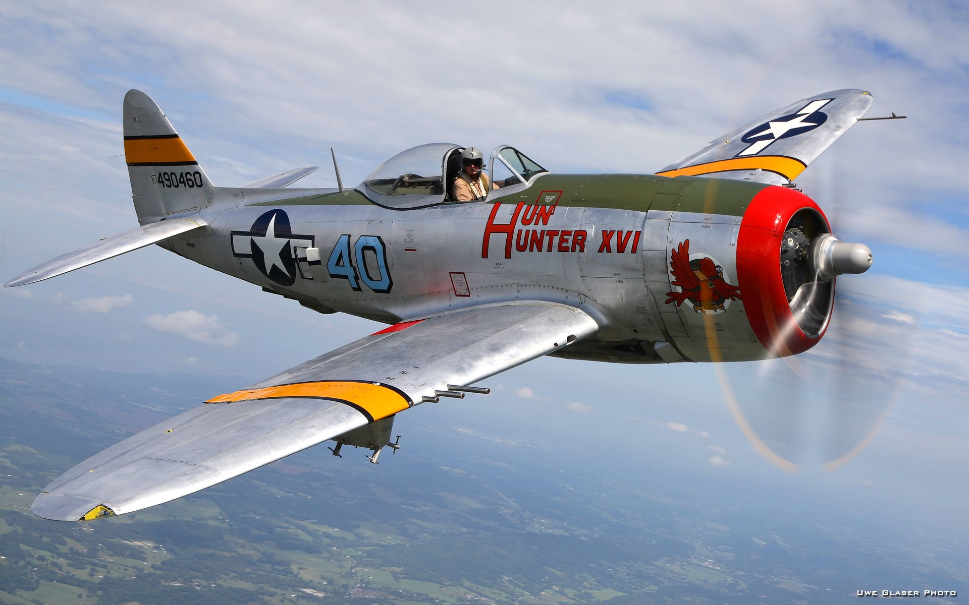 8 Republic P 47 Thunderbolt HD Wallpapers Background Images 1920x1200
