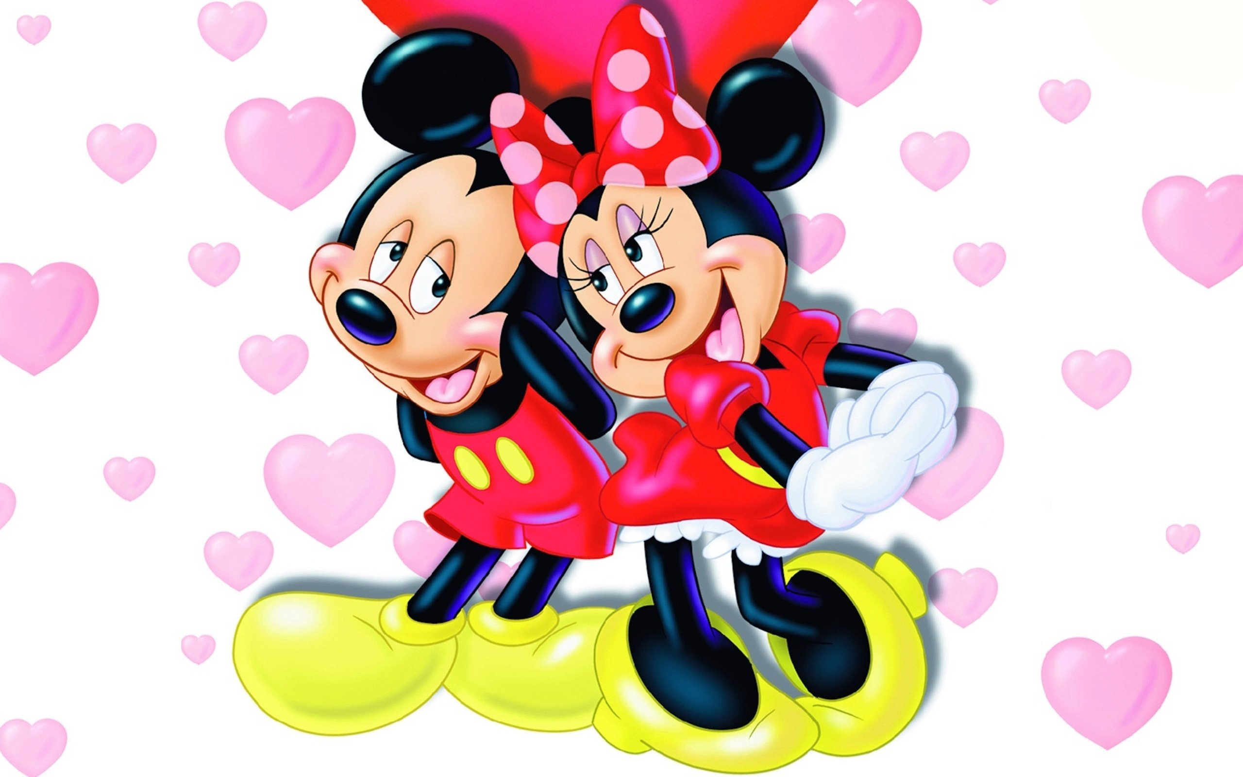 Mickey and minnie mouse wallpapers wallpapersafari - Mickey mouse minnie cienta ...