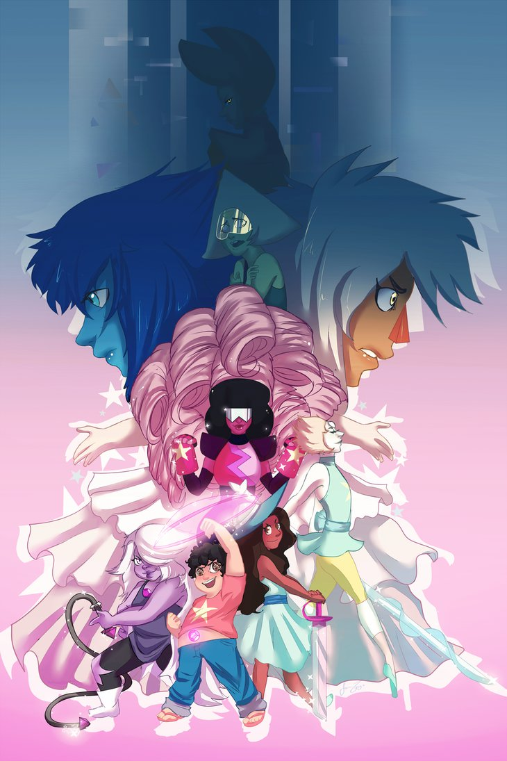 Crystal Gems Steven Universe Wallpaper Wallpapersafari