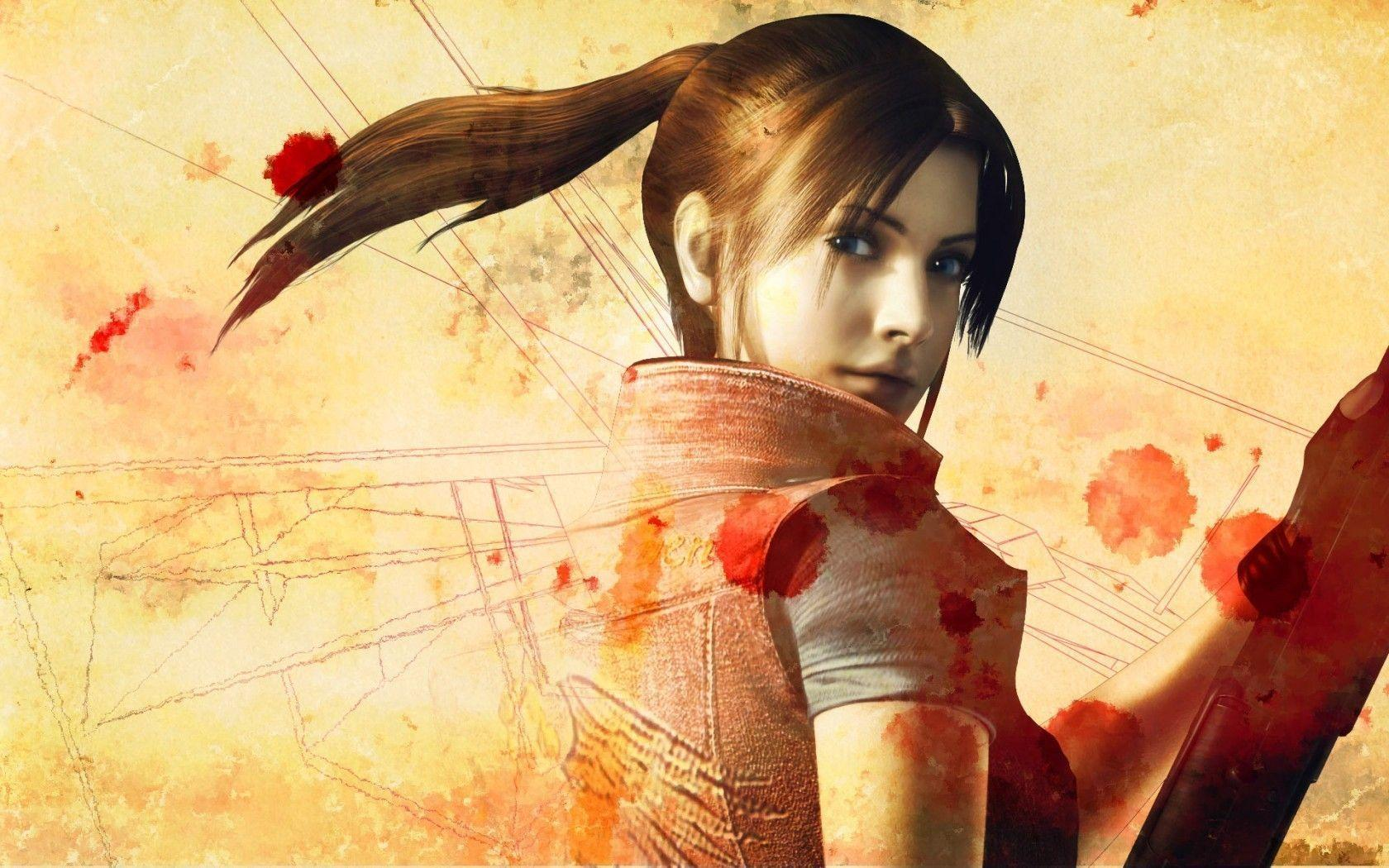 Claire Redfield Wallpapers 1680x1050