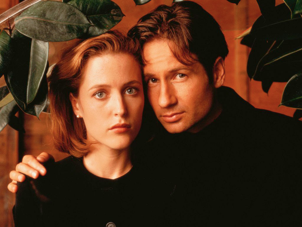 The X Files   Mulder And Scully Hd Wallpapers backgrounds 1024x768