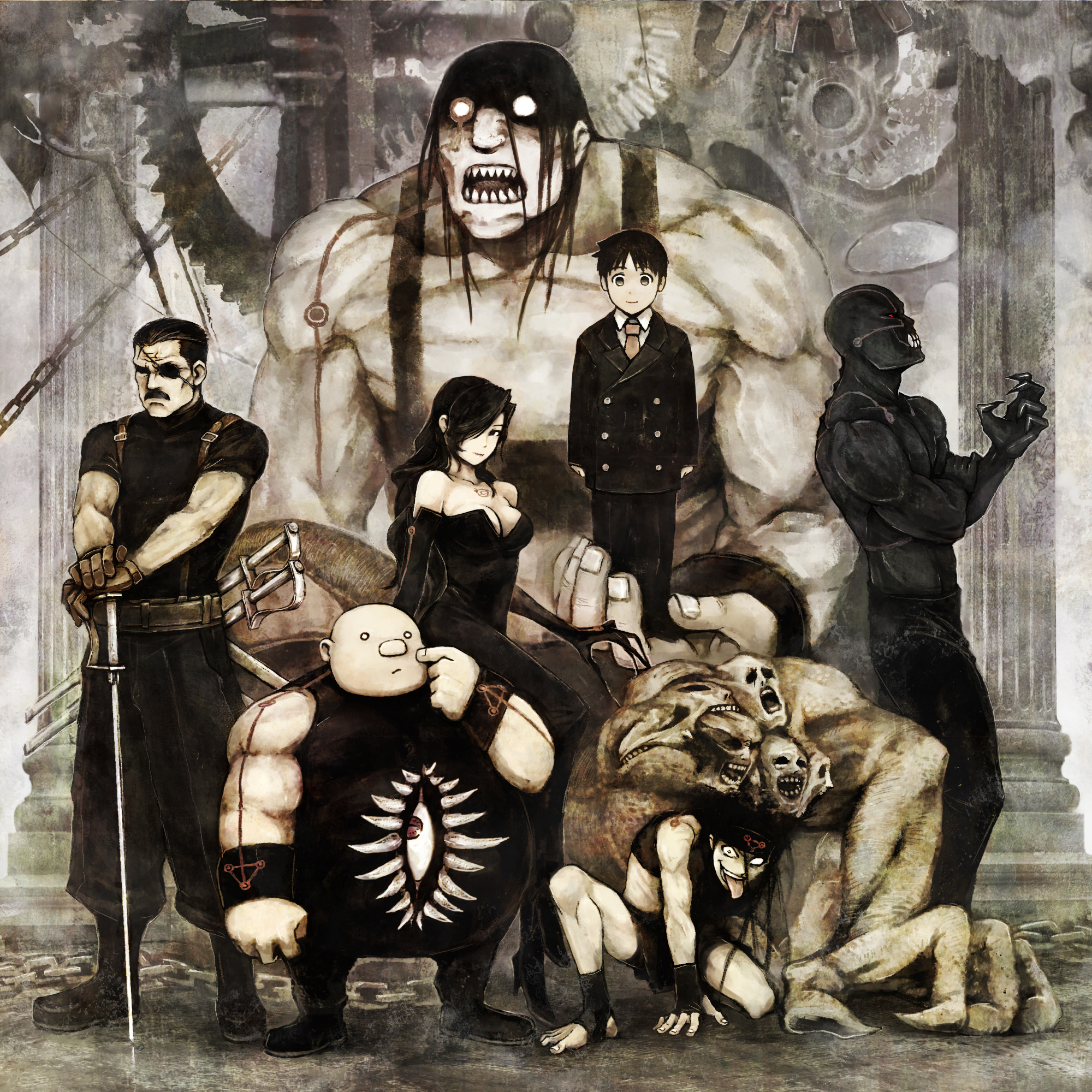 seven deadly sins lust fma gluttony HD Wallpaper of Anime Manga 2000x2000
