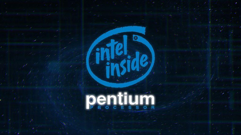 Intel Inside Pentium Processor Wallpaper by TheMorc 1024x576