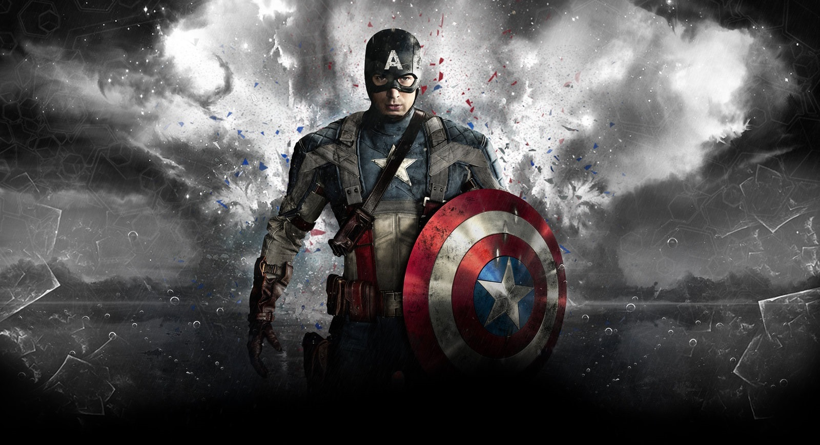 Captain America HD Wallpaper For Desktop 1600x869
