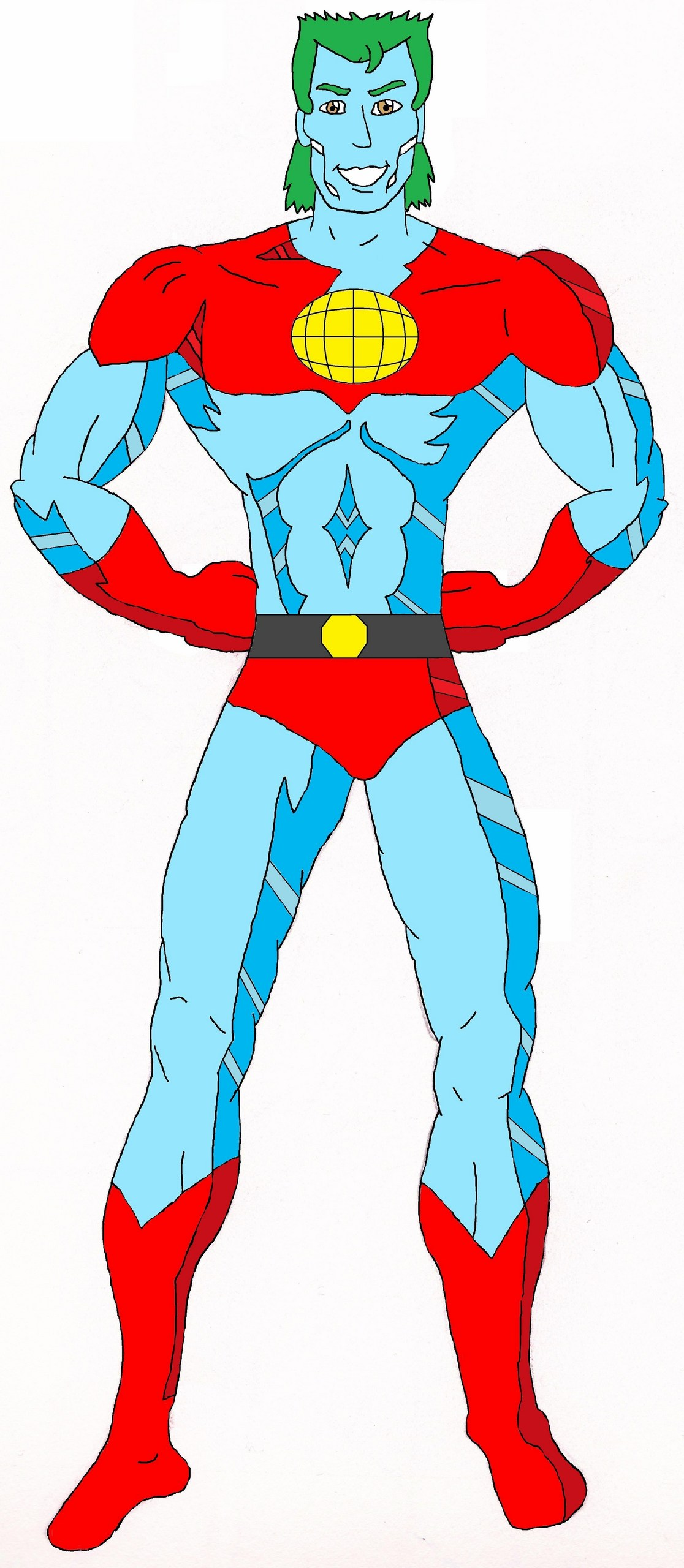Captain Planet   Captain Planet and the Planeteers Fan Art 1116x2560