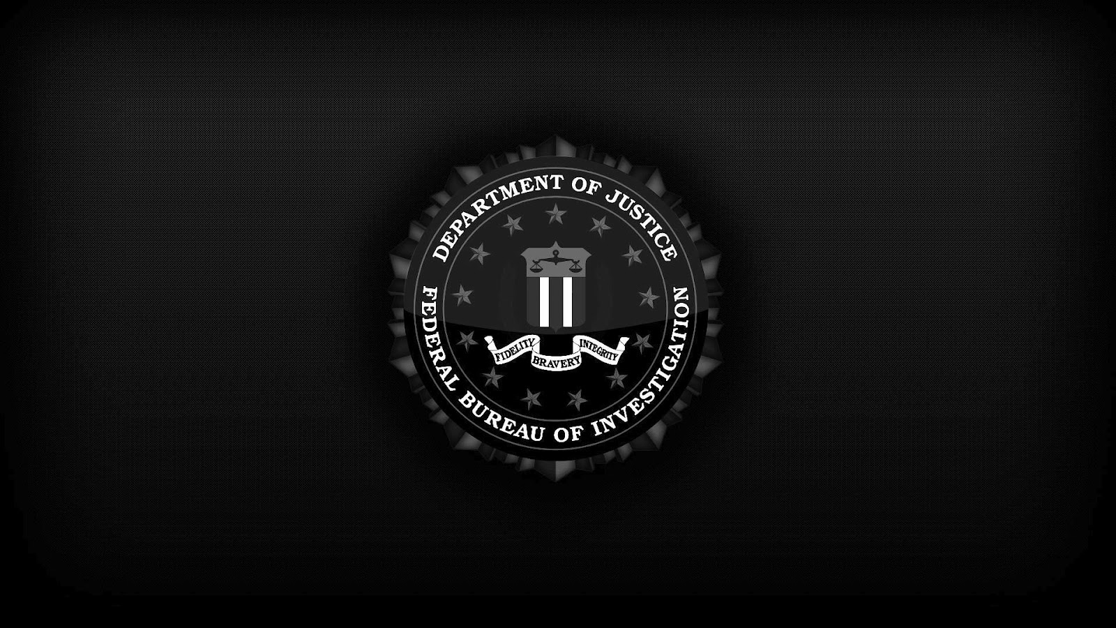 Federal Bureau of Investigation   Department of justice Wallpapers 1600x900