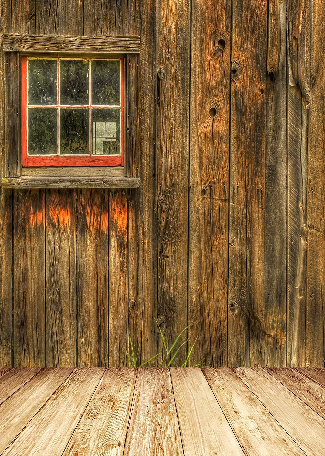 Amazoncom FIVEWARE 5x7ft Rustic Barn Door Wall Photography 1071x1500