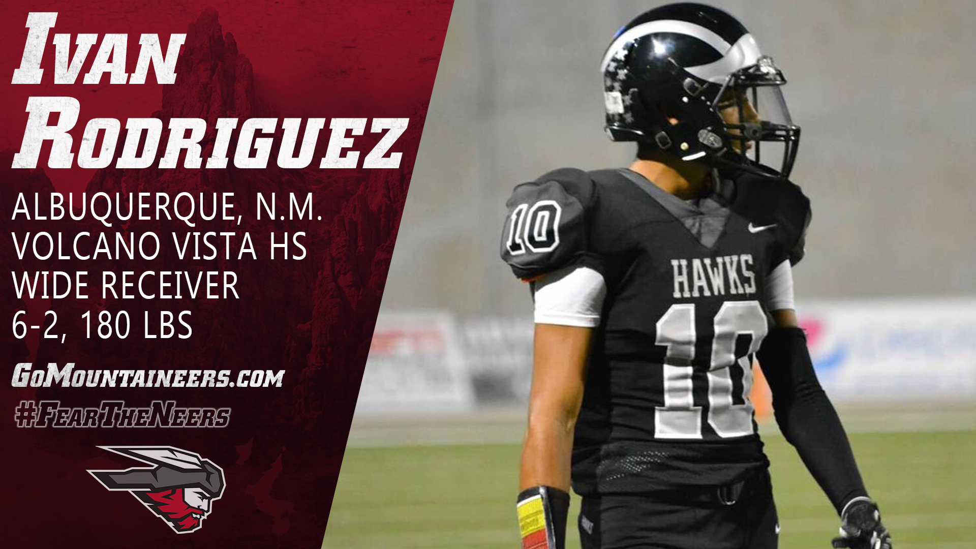 Ivan Rodriguez   2020 National Signing Day   Football   Western 1920x1080