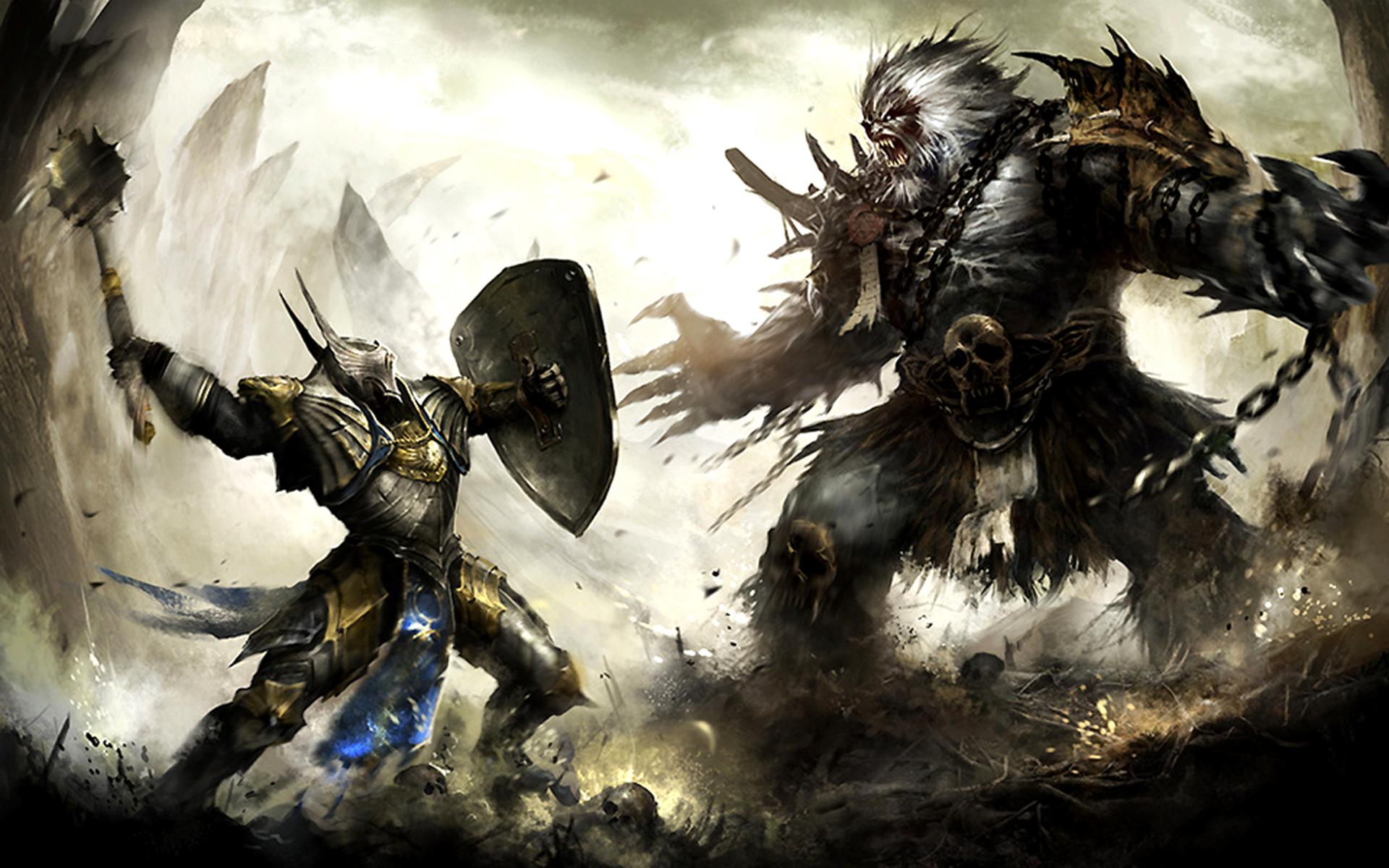 Fantasy Knight wallpaper 117443 1920x1200