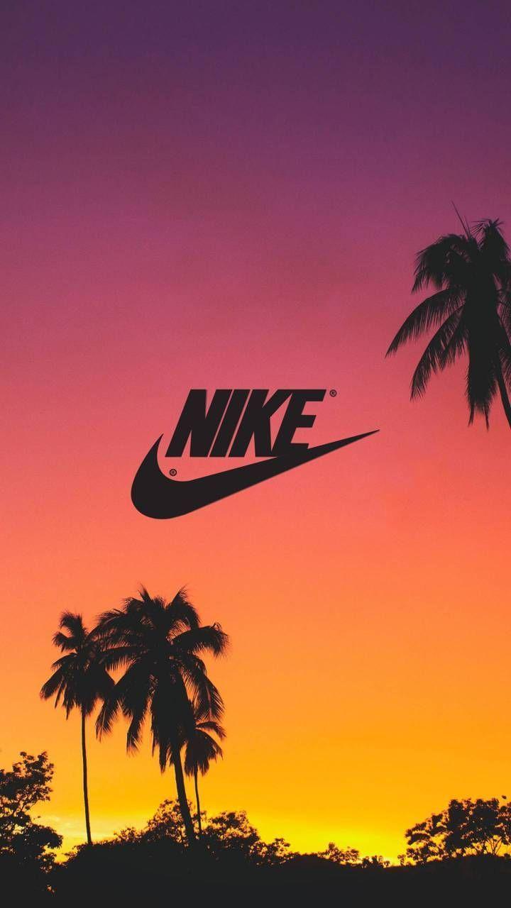NIKE Tropical Sunset Wallpaper wallpaperforyourphone NIKE 720x1280