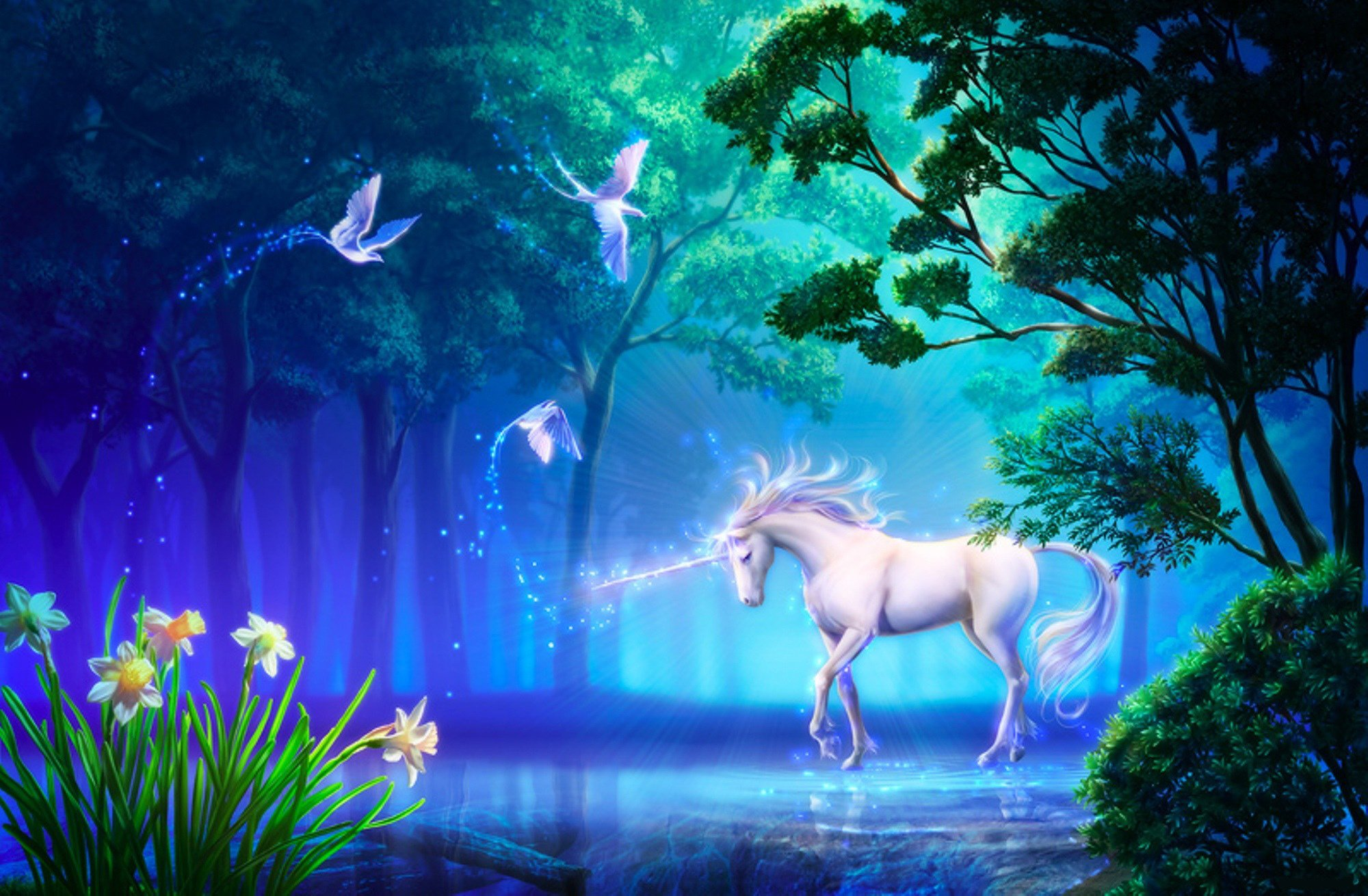 75 Unicorn HD Wallpapers Background Images 2000x1310
