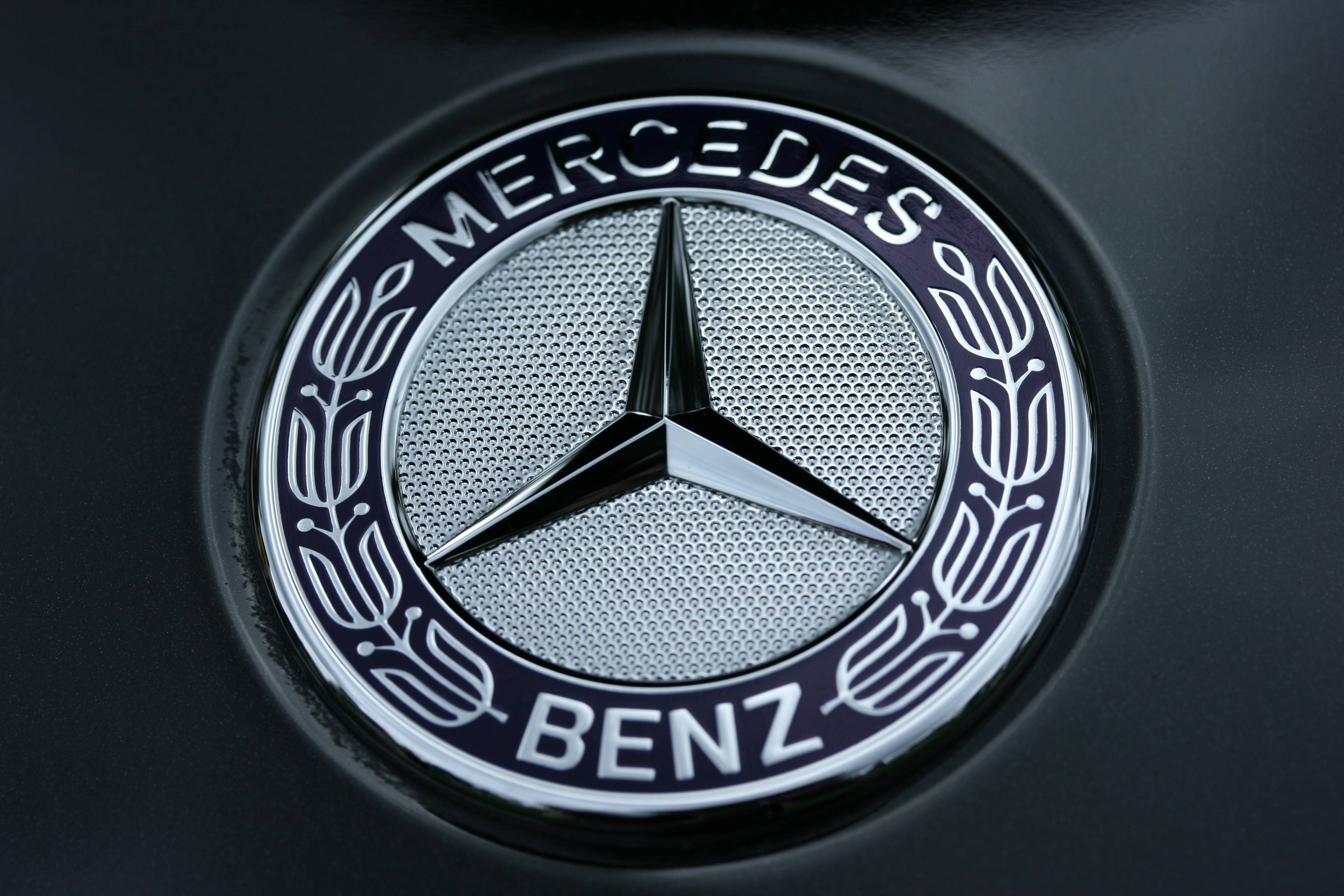 Mercedes Benz Logo Wallpapers Pictures Images 3888x2592