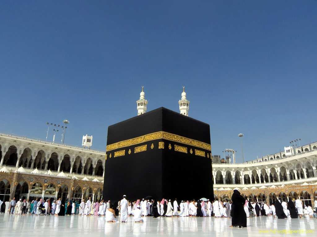 Kaaba Mecca Live Wallpaper islamic background for Android   APK 1024x768