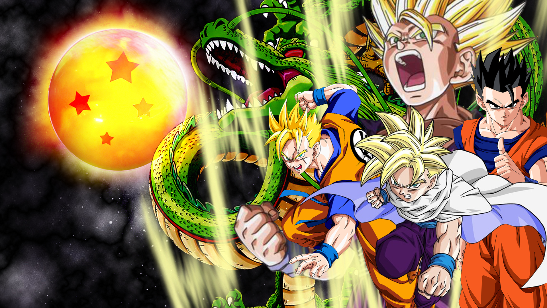 Gohan Vs Cell Wallpaper Gohan wallpaper by vulc4no 1920x1080