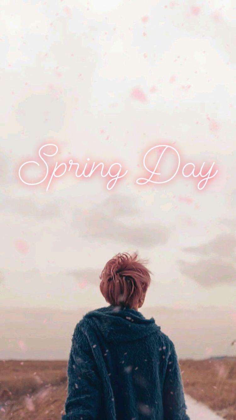 BTS Jimin Spring Day BackgroundWallpaper With images Bts 750x1334