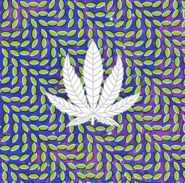Trippy Marijuana Leaf Pictures Photos and Images for Facebook 640x636