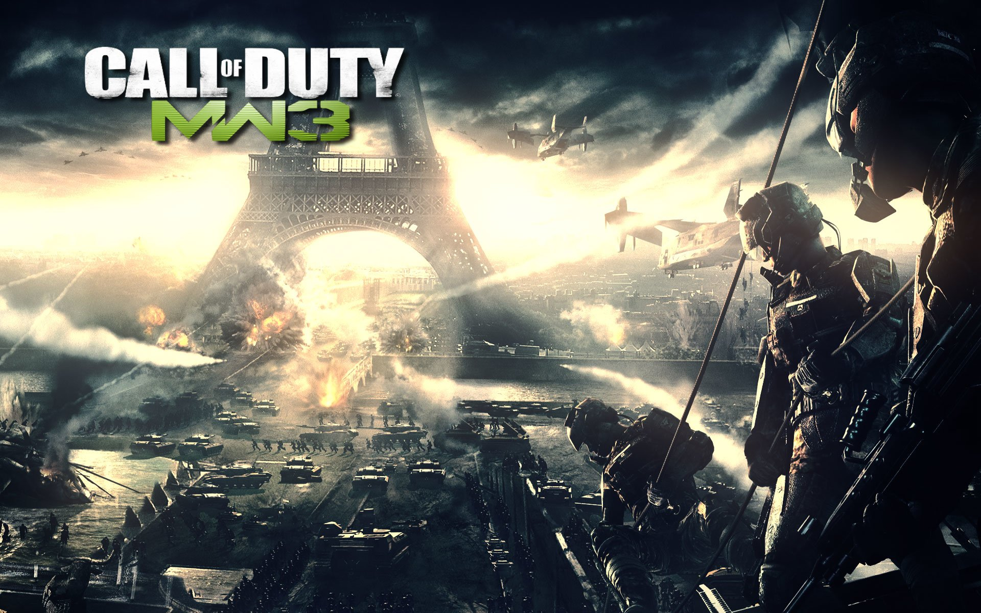 20 Call of Duty Modern Warfare 3 HD Wallpapers Background Images 1920x1200