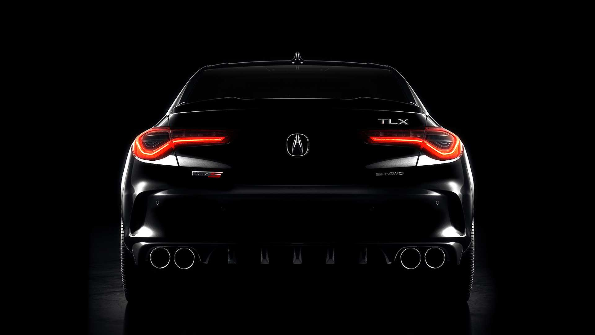 2021 Acura TLX Teaser Previews Type S Revival New Turbocharged V6 1920x1080
