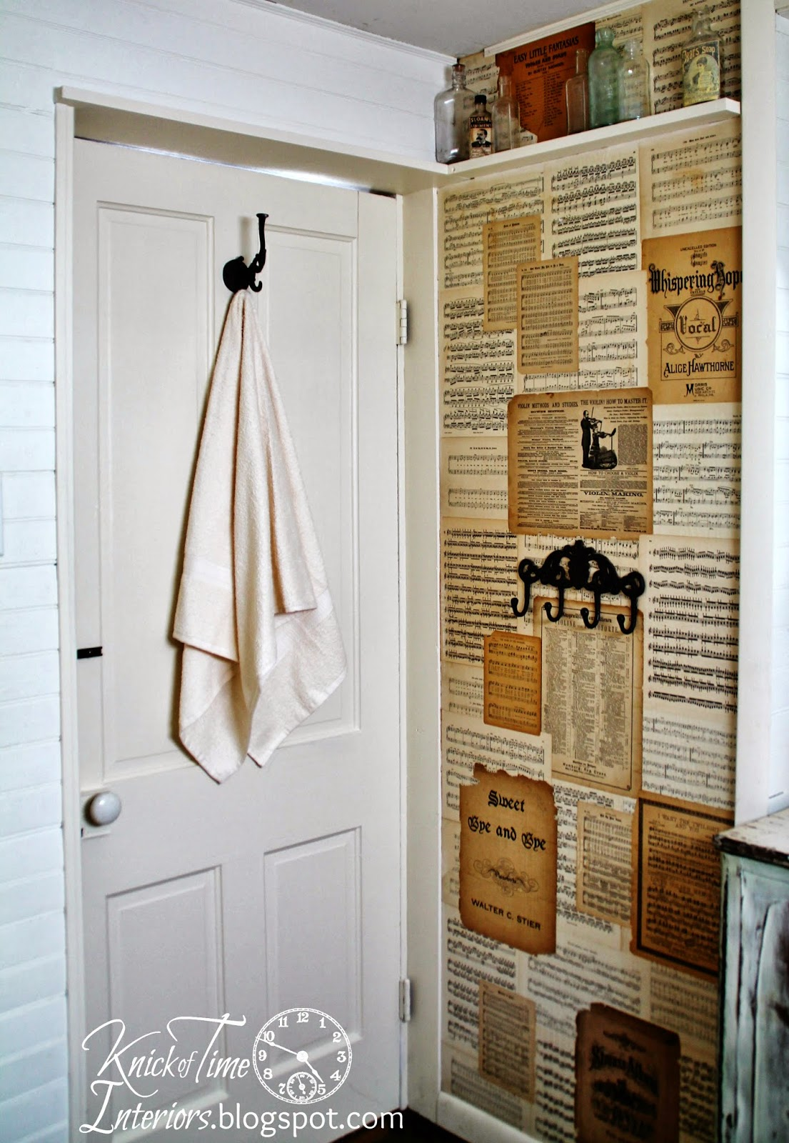 Farmhouse Bathroom Makeover again   Knick of Time 1105x1600