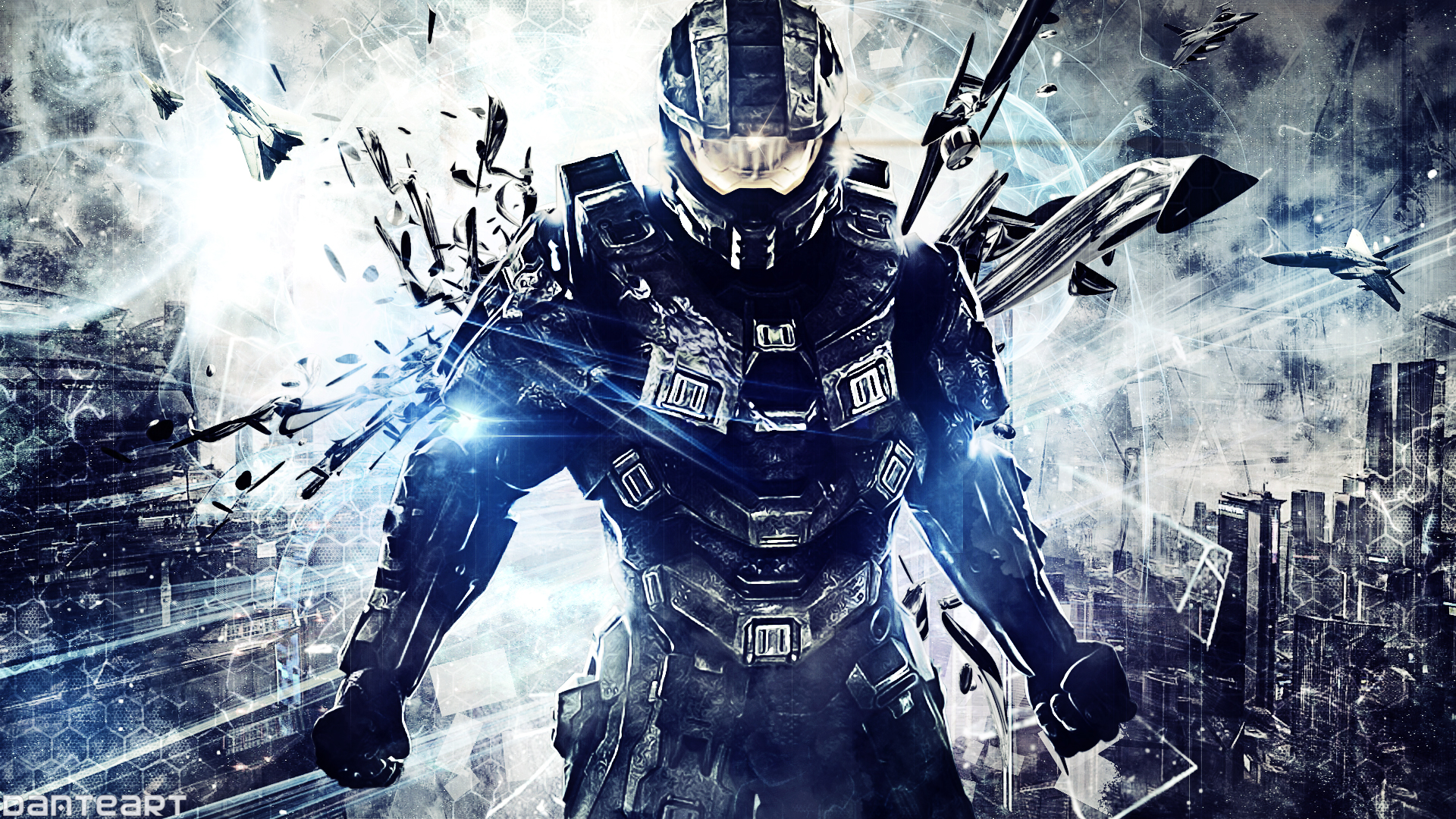 halo 4 wallpaper by danteartwallpapers fan art wallpaper games 2013 1920x1080
