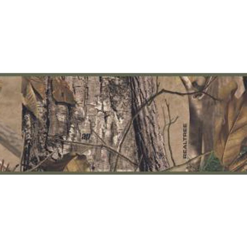 Wallpaper Border Lodge RealTree AP Camo Border 800x800