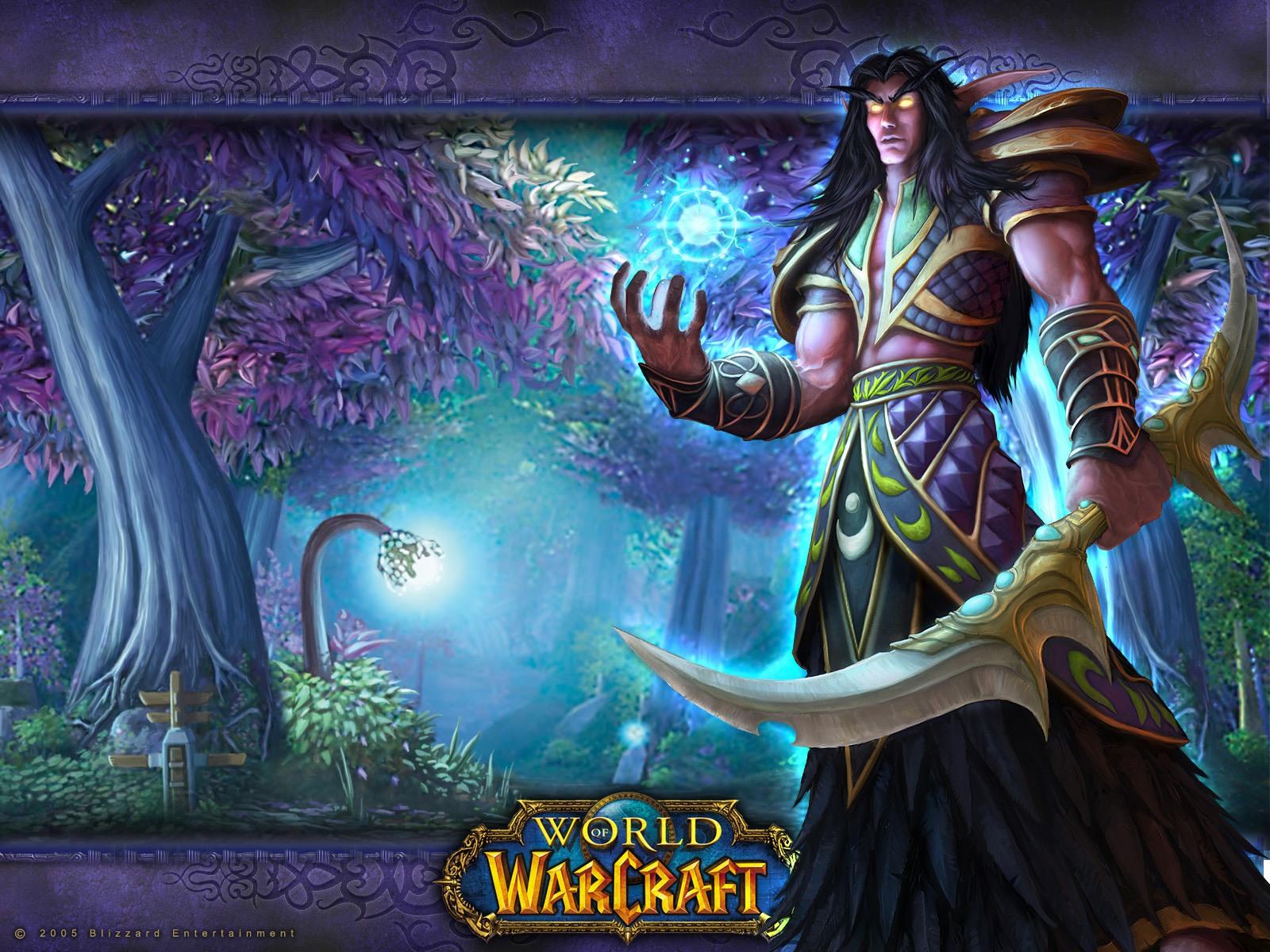 Free Download World Of Warcraft Night Elf Wallpaper 1600x1200