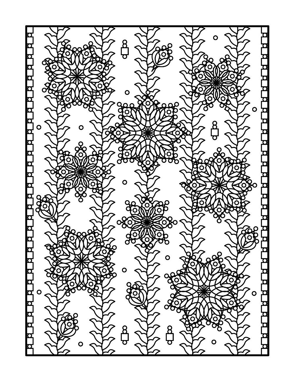 Adult Coloring Pages   and Printable ColoringBookFuncom 1000x1294
