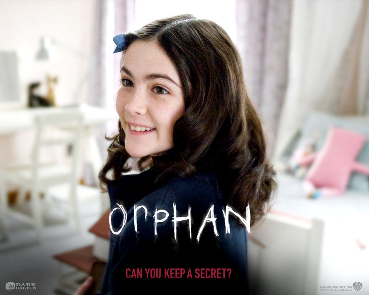 Orphan   Dont let her cuteness fool you Starring Vera Farmiga 1280x1024
