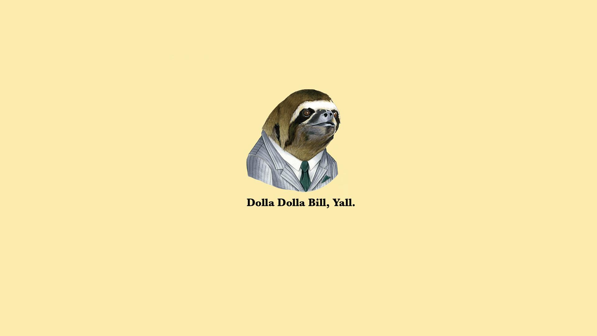 Astronaut Sloth Wallpaper - WallpaperSafari