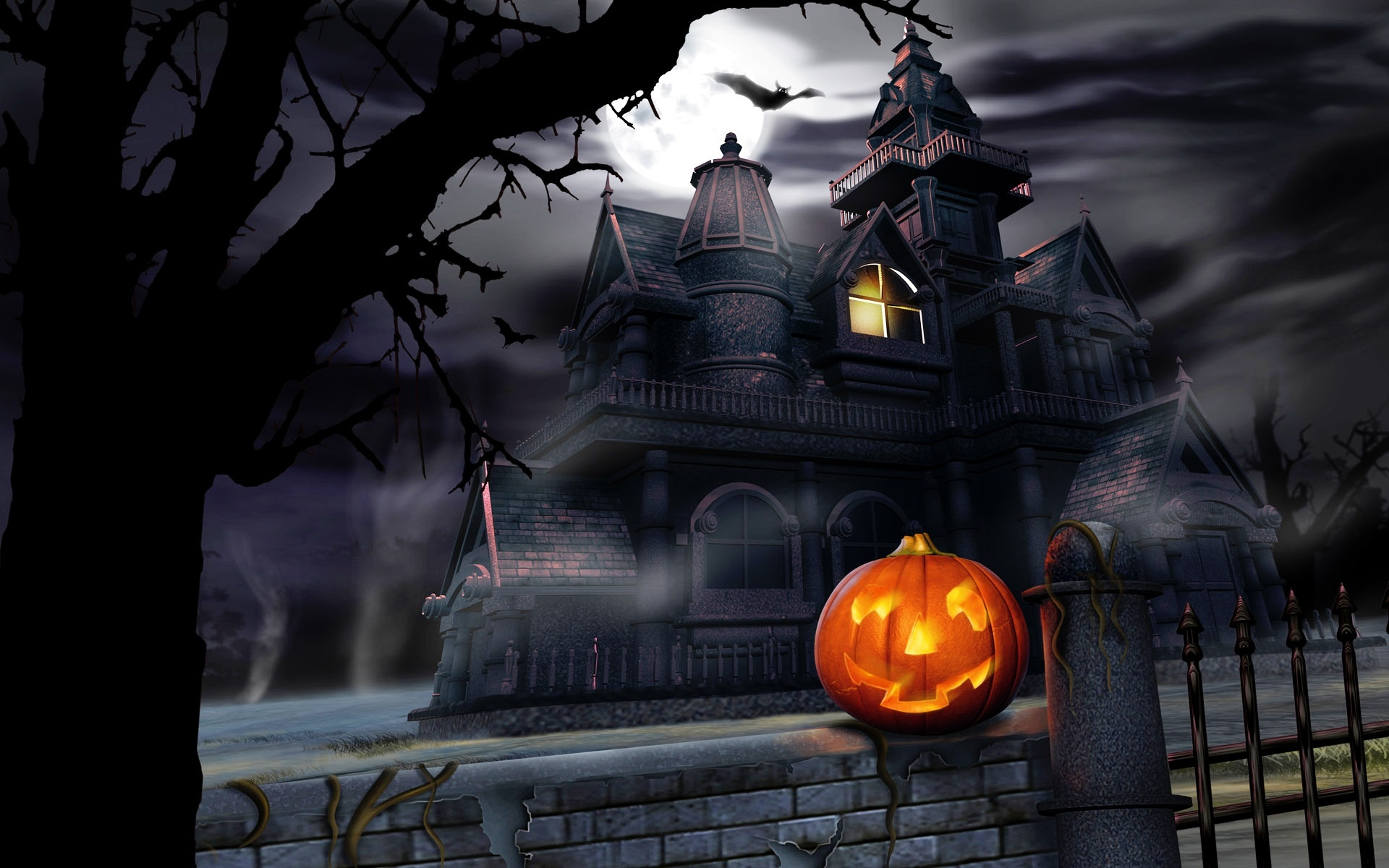 Halloween Nights Wallpapers in jpg format for download 1920x1200