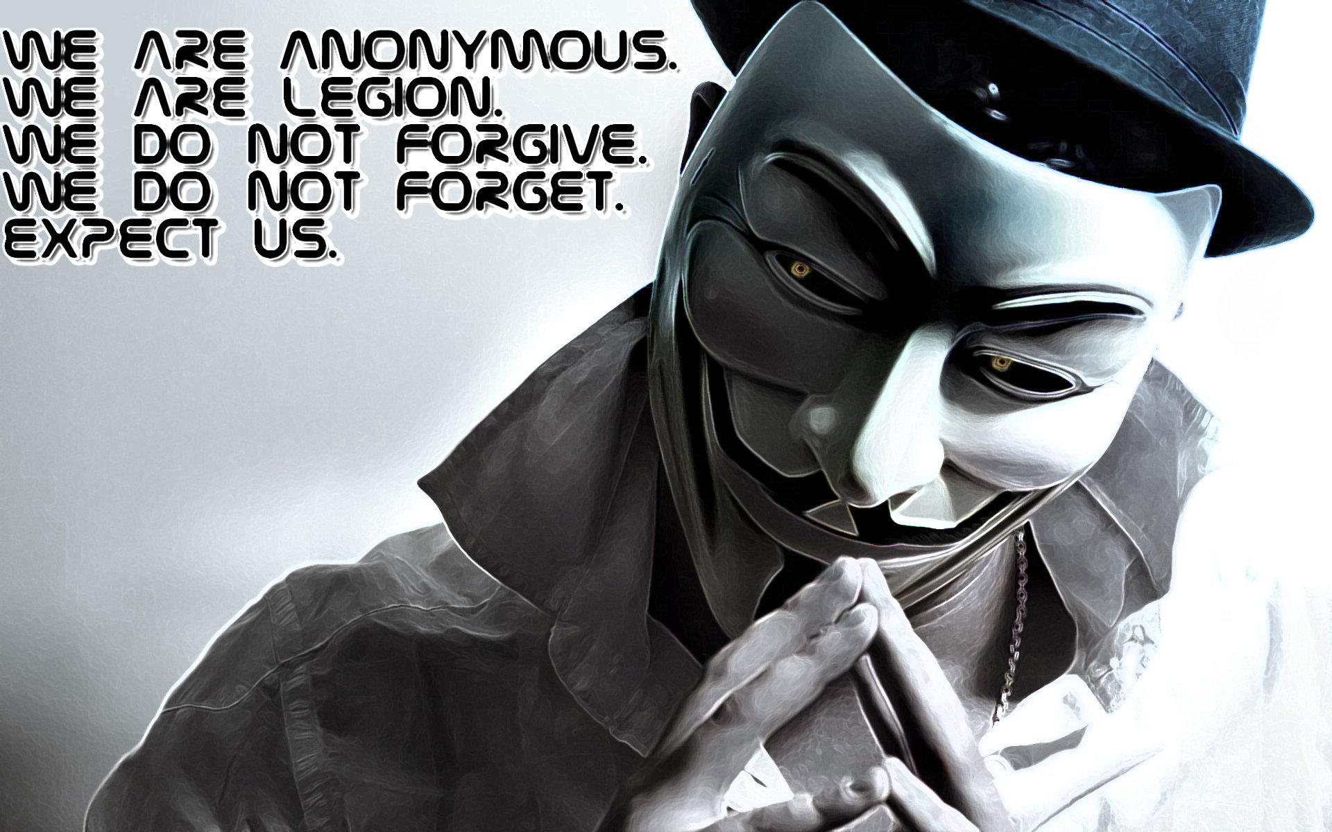 Anonymous Wallpaper Full HD - WallpaperSafari
