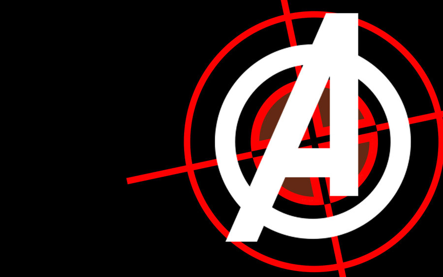 Avengers Logo Wallpaper By Meerca67 900x563