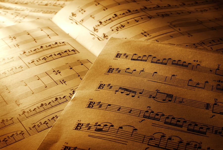 Music sheet wallpaper wallpapersafari for Wallpaper sheets