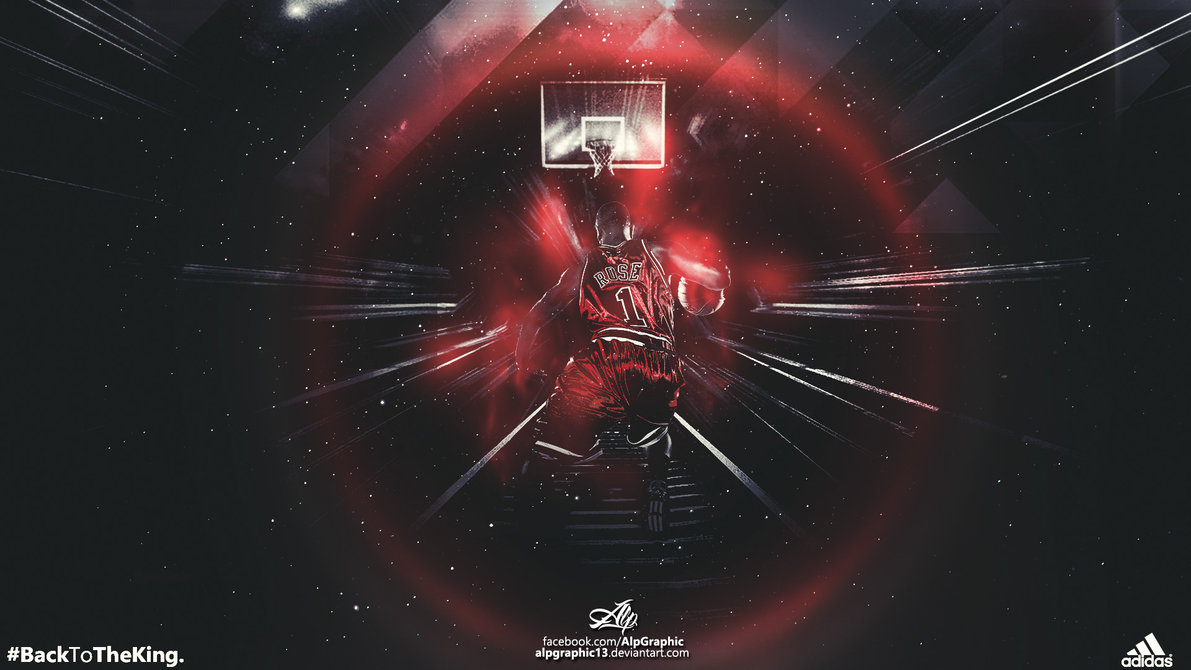 DERRICK ROSE Wallpaper by AlpGraphic13 1191x670