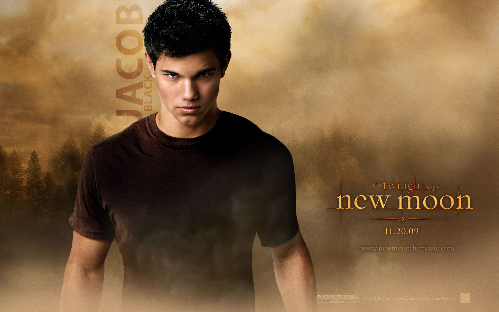 download Twilight New Moon Jacob Desktop Wallpaper [1680x1050 1680x1050