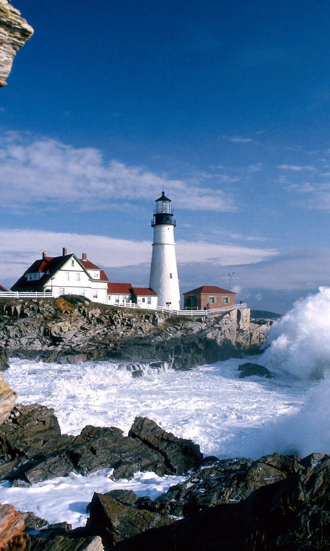 Hd Wallpapers Beautiful Lighthouses 1366 X 768 362 Kb Jpeg HD 480x800