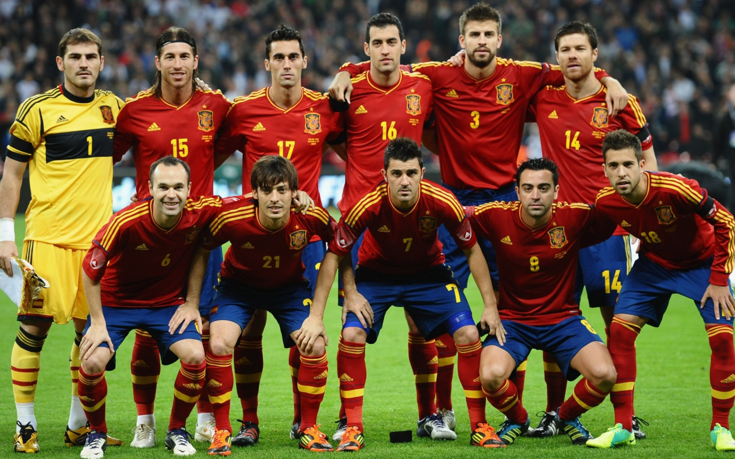 National Team Of Spain 2013 Wallpupcom 2560x1600