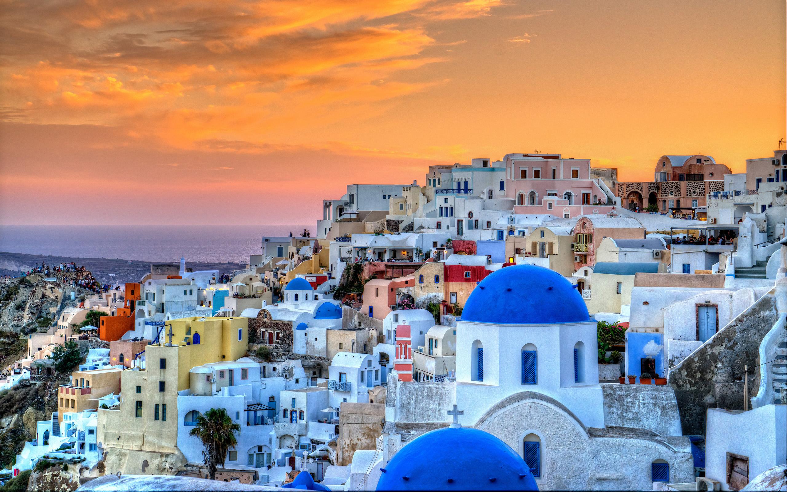 Santorini Wallpapers Pictures Images 2560x1600