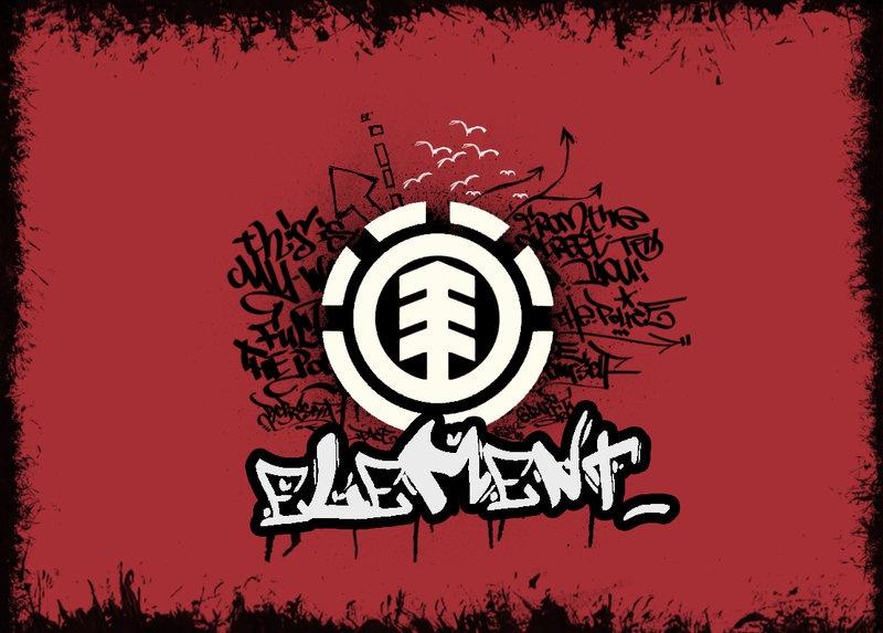 Element Skateboarding Wallpaper Skateboarding Logo Wal...