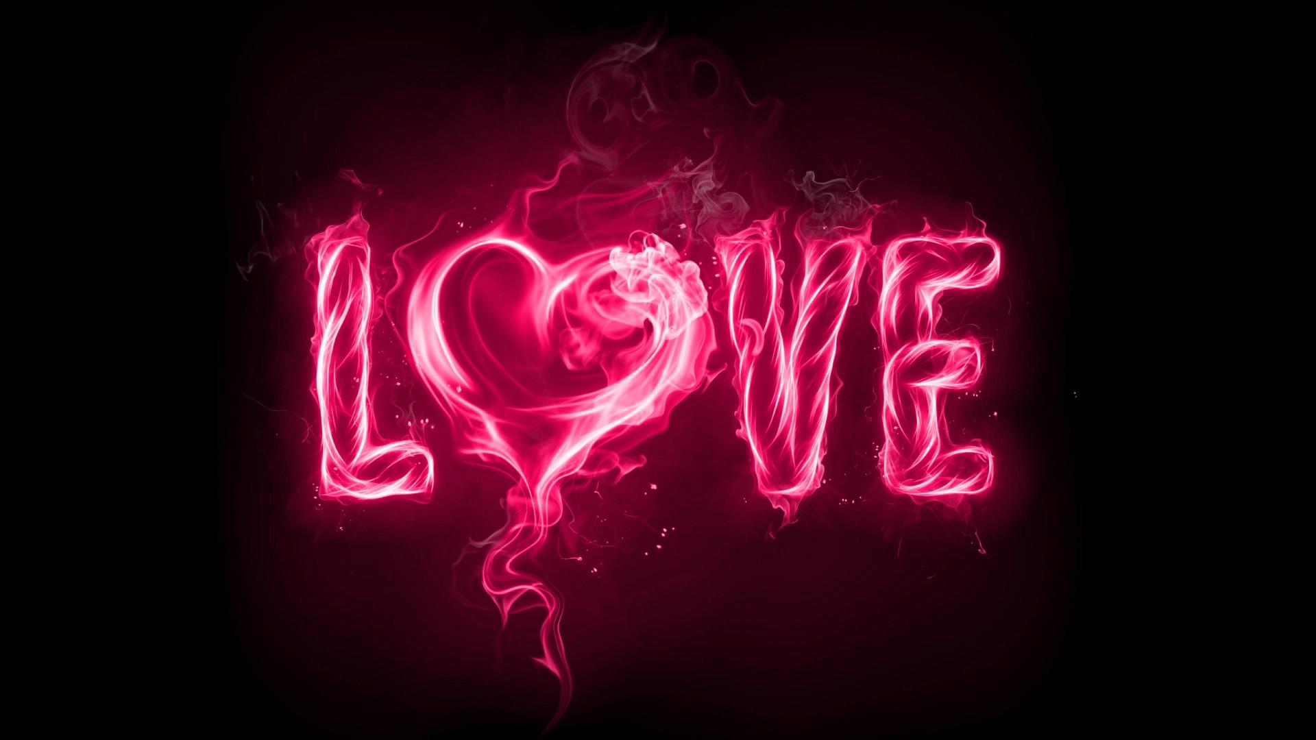 Love Pink HD Wallpapers Desktop WallpaperToon Imagenes 1920x1080