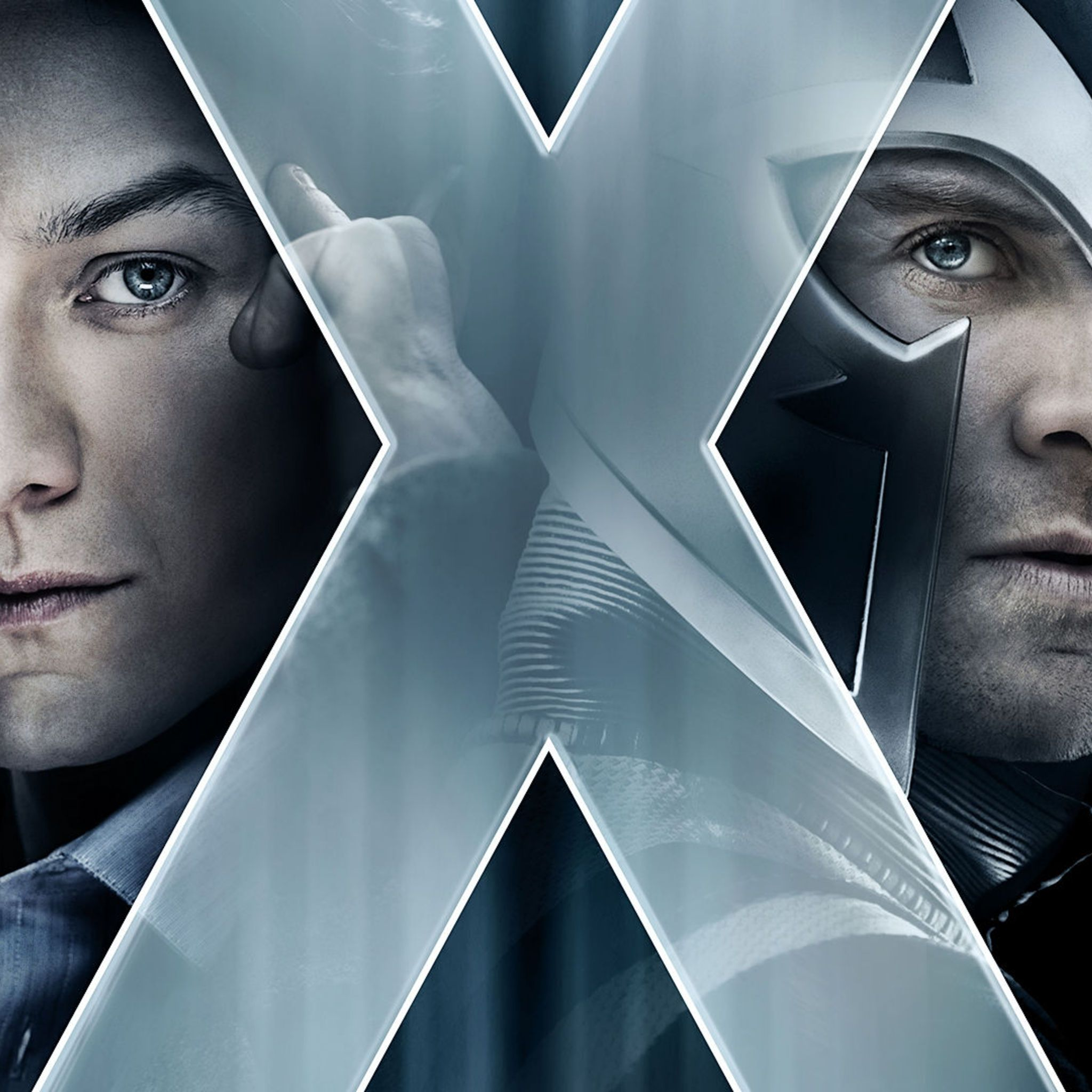 Professor X And Magneto   Tap to see more of the X Men Apocalypse 2048x2048