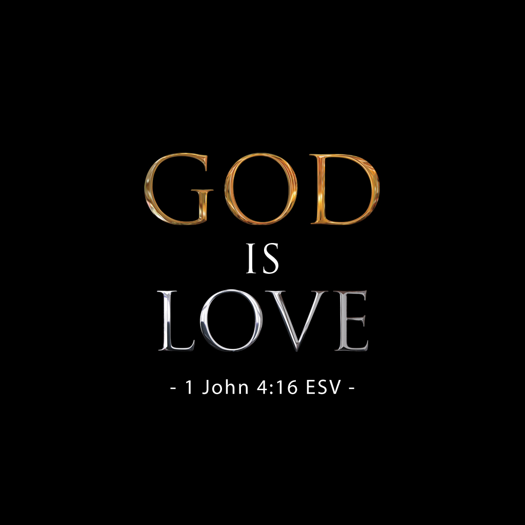 thoughts on god is love ipad wallpaper 1024x1024